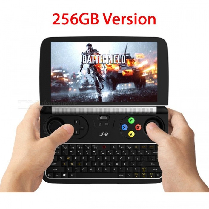 Buy GPD WIN2 8GB + 256GB Laptops Mini 6 Inch Windows 10 Touchscreen Micro HDMI Port Pocket Laptop Black with Litecoins with Free Shipping on Gipsybee.com