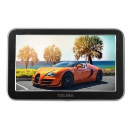 Kelima New 7 Inch Car Monitor AV2 Road Car Monitor Magnet Sucker Car Monitor