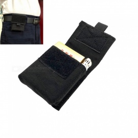 Outdoor Waterproof Wear-resistant Nylon Cigarette Receive Package Multi-function To Wear Belt Cigarette Packs+Black