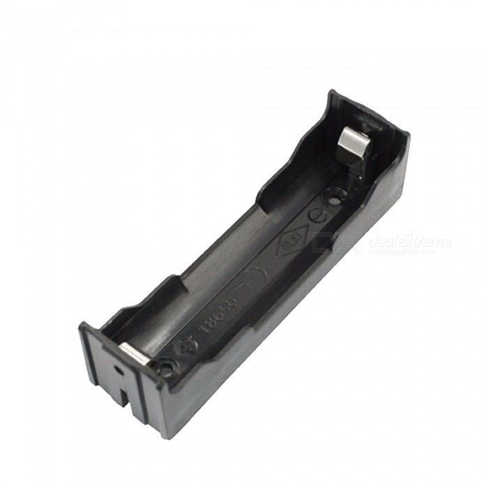 ABS 18650 Battery Holder Box Hard Pin 18650 Holder Batteries Case 1X 18650 Rechargeable Battery Power Bank Cases