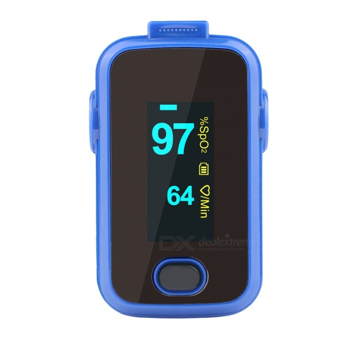 Buy Fingertip Pulse Oximeter A310 Alarm Waterproof Fingertip Oximeter with Litecoins with Free Shipping on Gipsybee.com