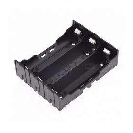 ABS 18650 Battery Holder Box Hard Pin 18650 Holder Batteries Case 3X 18650 Rechargeable Battery Power Bank Cases