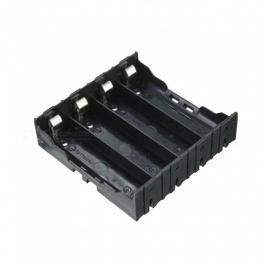 ABS 18650 Battery Holder Box Hard Pin 18650 Holder Batteries Case 4X 18650 Rechargeable Battery Power Bank Cases