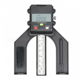 ZHAOYAO Digital Height Gauge with Three Measurement Modes, Magnet Based, Stainless Steel Locking Screw, Large Digit