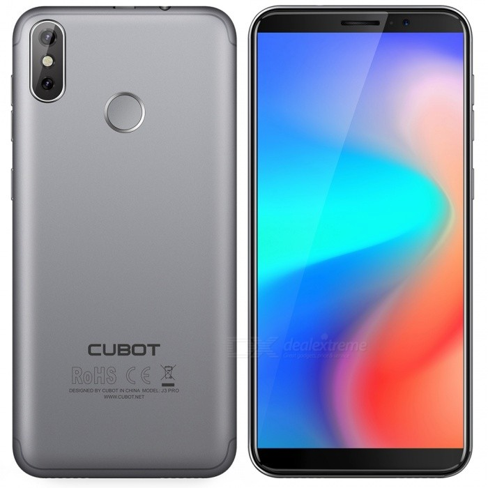 "CUBOT J3 PRO Android GO 4G 5.5"" Phone with 1GB RAM, 16GB ROM - Space Gray"