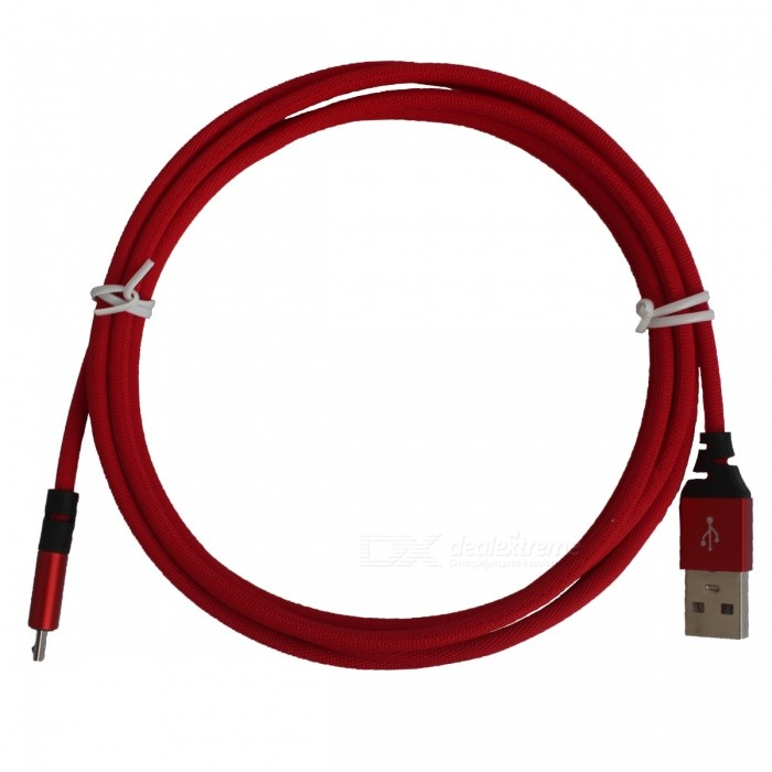 High Quality Micro USB 5Pin Sync & Charging USB Cable L 2M (Red)
