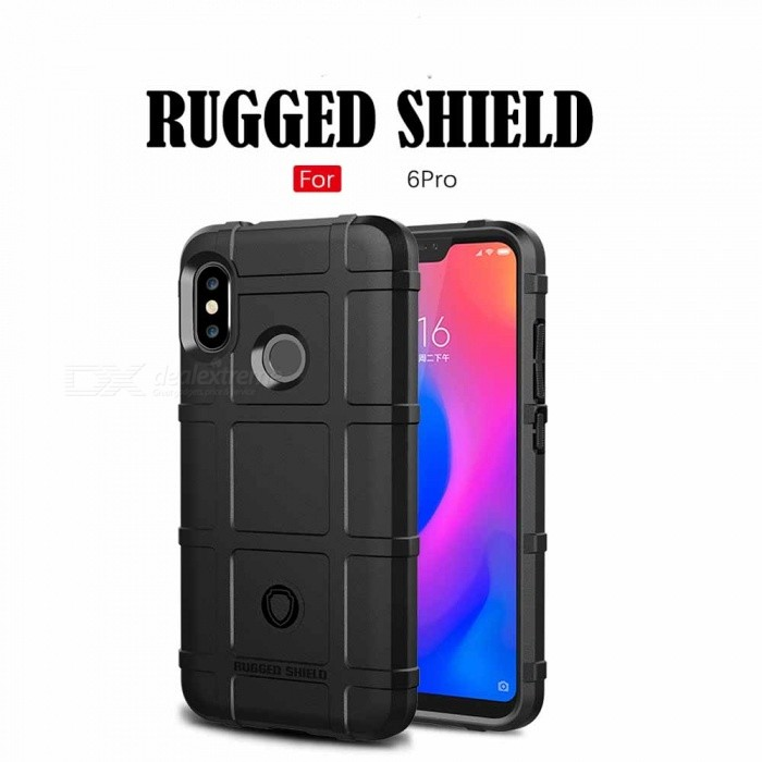 Rugged TPU Cell Phone Case with Resilient Shock Absorption for Xiaomi Mi 6 Pro