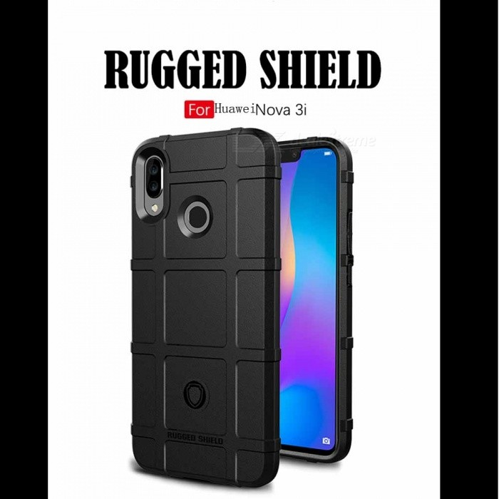 Rugged TPU Cell Phone Case with Resilient Shock Absorption for HUAWEI Nova 3I