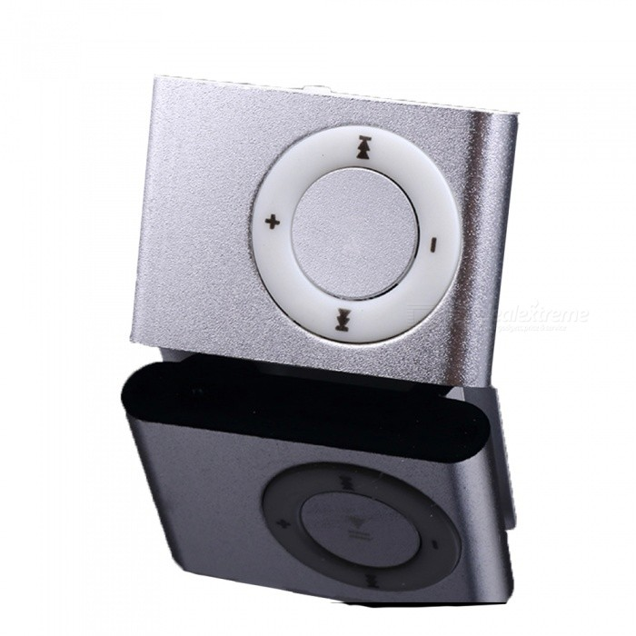 XSUNI Metal Screenless Card Mp3 Iron Clip Player Sports Walkman
