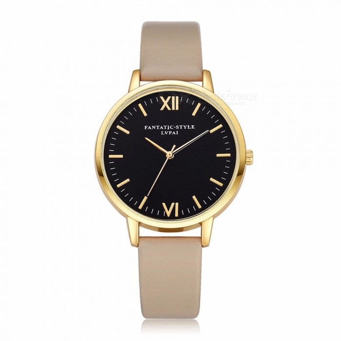 PU Leather Strap Fashion Casual Digital Wristwatches Unisex Watches Pink