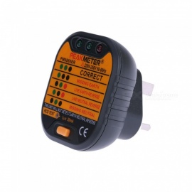 ZHAOYAO PEAKMETER  PM6860ER British Standard Socket Safety Tester Line Testing Equipment