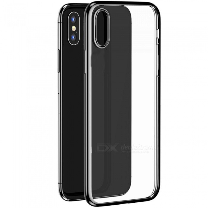 Benks Electroplating TPU Back Cover Protective Case For iPhone XS Max Black