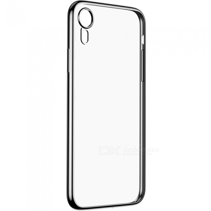 Benks Electroplating TPU Mobile Phone Back Cover Case For iPhone XR Black