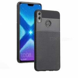 Cell Phones & Accessories Huawei Honor 6x Étui Tpu Fibre De Carbone Optique Brushed Motif Etui Coque Noir Cell Phone Accessories