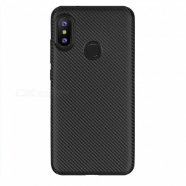 Ultra-Thin Protective TPU Back Case for Xiaomi Redmi Note 6 Pro - Black