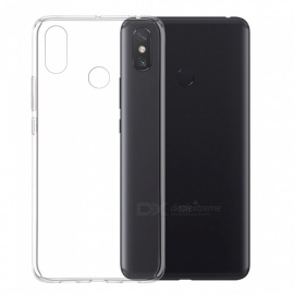 Mrnorthjoe Ultra-Thin TPU Back Cover Transparent Case for Xiaomi Mi Max 3