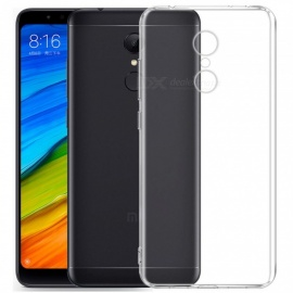 Mr.northjoe Ultra-Thin Tpu Back Cover Case for Xiaomi Redmi 5 Plus - Transparent