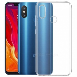 Mr.northjoe Ultra-Thin Tpu Back Cover Case for Xiaomi Mi 8 - Transparent