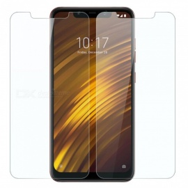 Mrnorthjoe 2PCS Tempered Glass Film for Xiaomi Pocophone F1