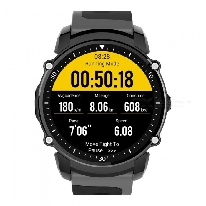 Buy CTSmart Waterproof Sport Bluetooth Watch FS08 with Litecoins with Free Shipping on Gipsybee.com