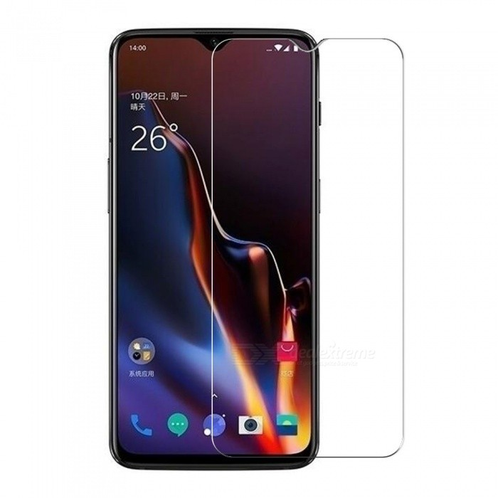 Tempered Glass Screen Film for Oneplus 6T - Transparent