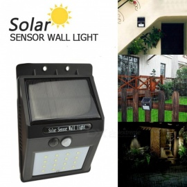 AIBBERTONE Motion Sensor Solar Lamp Outdoor Waterproof Wall Light LED Solar Light Energy Saving Yard Garden Security Lamp