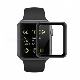 XSUNI 42MM Watch Full Screen Tempered Film for Apple Watch 1/2/3/4