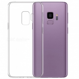 Mrnorthjoe Ultra-Thin TPU Back Cover Transparent Case for Samsung Galaxy S9