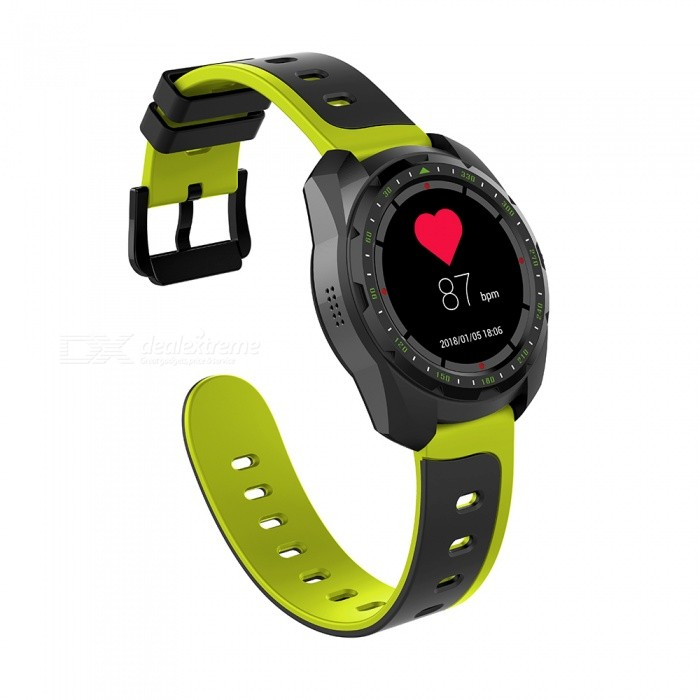 Buy KW01 Waterproof Bluetooth Watch Green with Litecoins with Free Shipping on Gipsybee.com