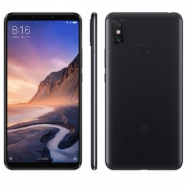 Xiaomi Mi Max 3 4G Phablet With 4GB RAM 64GB ROM, 12.0MP + 5.0MP Rear Camera, Fingerprint -Black
