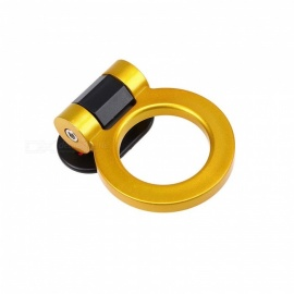 CARKING Universal Gold Ring Track Racing Style Tow Hook Look Decoration For Any Car SUV