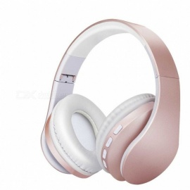 TF Card / FM / Wired / Bluetooth 4 in 1 Wrapping Ears Bluetooth Stereo Wirless Headphone