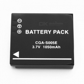 Suitable for Panasonic Cell CGA-S005E Full Decoding 1050mAh Lithium Battery Black