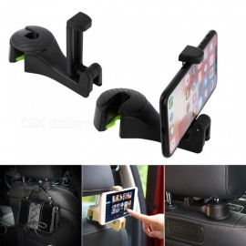 Vehicle Universal Car Headrest Hooks Organizer for Holding Phones and Hanging Handbags,Purses,Bags