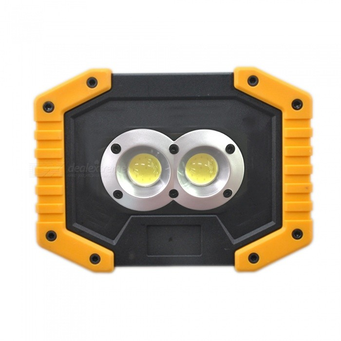 Buy Portable Spotlight LED Work Light Rechargeable 18650 Battery Outdoor Light For Hunting Camping LED Lantern Flashlight with Litecoins with Free Shipping on Gipsybee.com