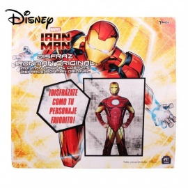 Disney Iron Man Costume For The 14-year-old Boys And Up W/1 PC Mask Red/One Size