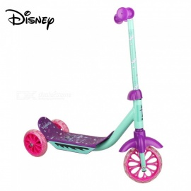 Disney Unisex Foldable Vampirina Cartoon Metal Triscooter For Kids W/1 Set Of Assembling Tools Violet