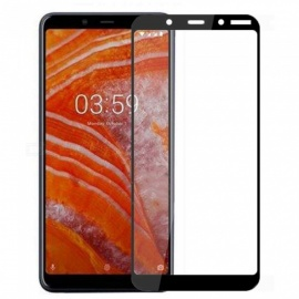 Naxtop Full Tempered Glass Screen Protector for Nokia 3.1 Plus