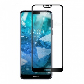 Naxtop Full Tempered Glass Screen Protector for Nokia 7.1