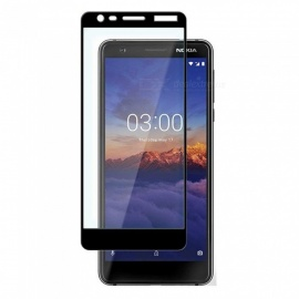 Naxtop Full-glue full-screen Tempered Glass screen Protector for Nokia 3.1