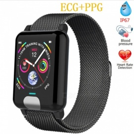 E04  Fitness Tracker ECG/PPG Blood Pressure Heart Rate Monitor Waterproof Smart Watch