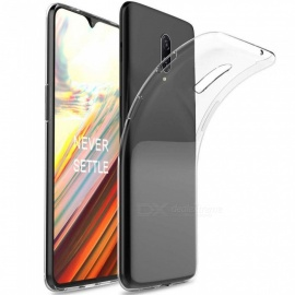 CHUMDIY Transparent Soft TPU Cover Case for Oneplus 6T - Transparent