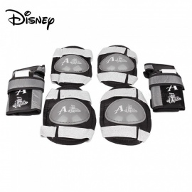 Disney Soy Luna 6-in-1 Protective Gear Set For Skating, Skateboarding Black/15-30cm