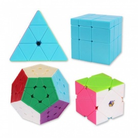 ZHISHENG Pyraminx Megaminx Mirror Blocks Skewb Magic Cube Speed Puzzle Cube Set Educational Toys