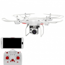 Z8 RC Helicopter 2.4GHz 6 Axis Gyro Wi-Fi FPV Quadcopter Drone with 2.0MP HD Camera - White