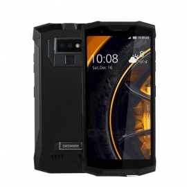DOOGEE S80 Lite Full Screen IP68 /IP69K/MIL-STD-810G 4G Professional Walkie-Talkie Rugged Phone w/ 4GB RAM, 64GB ROM -Black