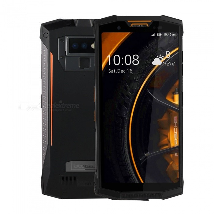 DOOGEE S80 Lite Full Screen IP68 /IP69K/MIL-STD-810G 4G Professional Walkie-Talkie Rugged Phone w/ 4GB RAM, 64GB ROM -Orange