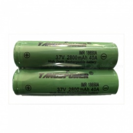 New Original 18650A 3.7 v 2800 mah 18650A Lithium Rechargeable Battery For Flashlight Batteries