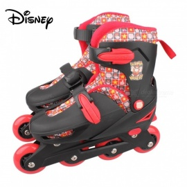 Disney Adjustable Wreck-it Ralph Roller Skate Shoes For Boy - Talla S Black