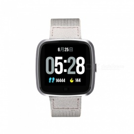 G12 Smart Watch Calorie Burnt Stainless Steel Strap Heart Rate Monitor IP67 Waterproof Fitness Tracker